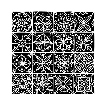 Abstract geometric pattern for your design. Vector illustration Banque d'images - 126353067