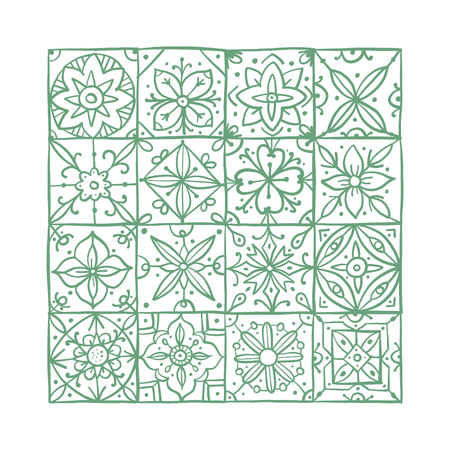 Abstract geometric pattern for your design. Vector illustration Banque d'images - 126325277