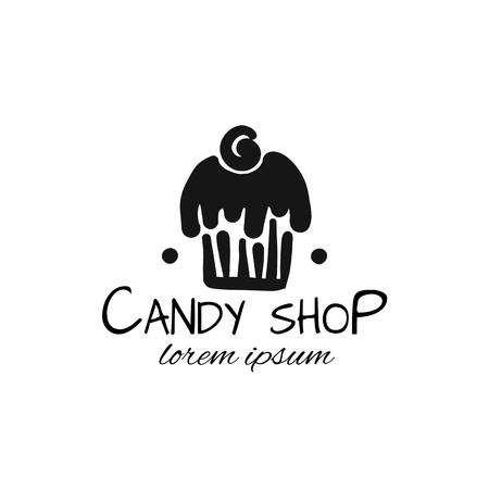 Candy shop concept for your design. Vector illustration Illustration