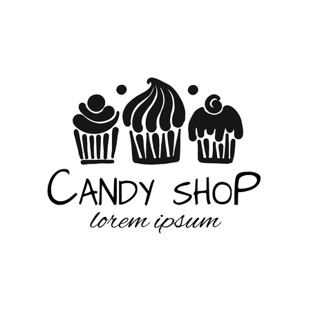 Candy shop concept for your design 일러스트