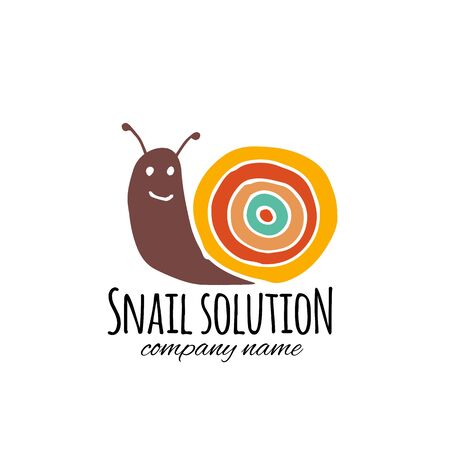 Funny snail for your design Reklamní fotografie - 129086582