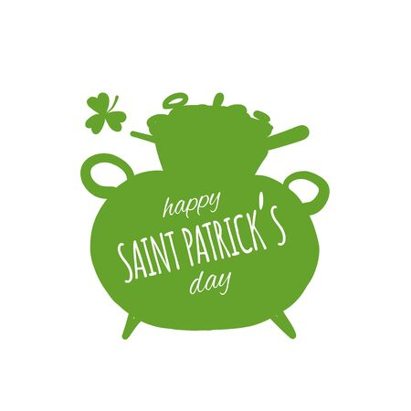 Saint Patrick Day. Greeting card for your design 版權商用圖片 - 129086854