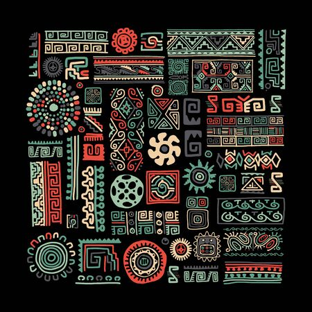 Ethnic handmade ornament