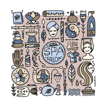 Spa salon background for your design