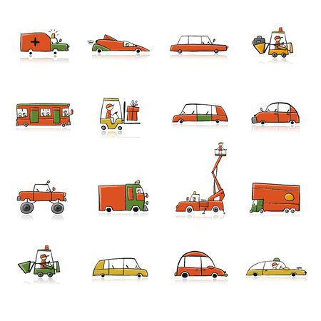 Baby toy cars collection for your design