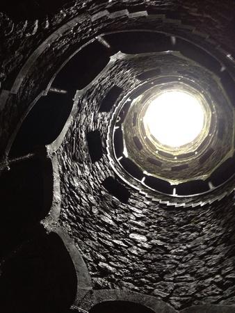 dark: Stairs in castle