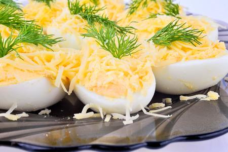 stuffed: Stuffed eggs