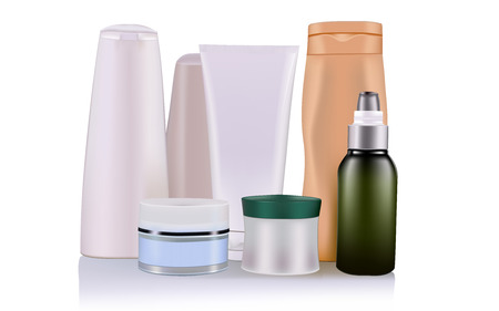 product packaging: cosmetic product