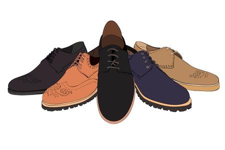 brogues: men  s shoes