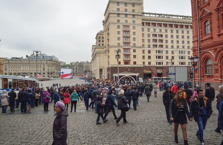 red square moscow: Red square, Moscow, Russia, 04.11.2015.14:00