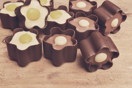 cafe bombon: chocolates  Foto de archivo