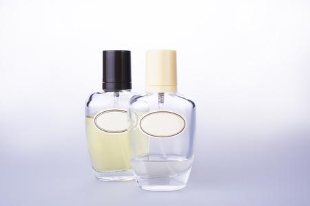 Perfume bottle isolated on white background