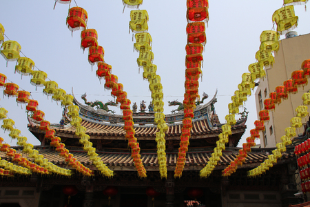 Taiwan temple 스톡 콘텐츠 - 110097969