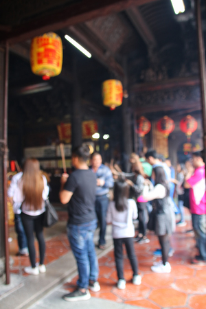 Taiwan temple 스톡 콘텐츠 - 109914509
