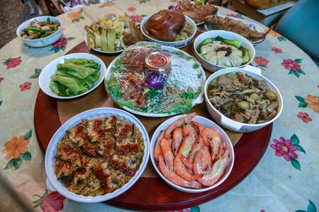 Chinese New Year Reunion Dinner in Taiwan