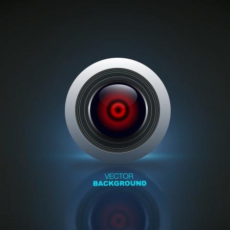 Camera objective background