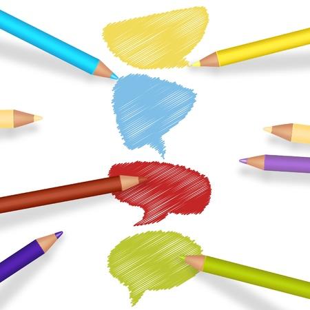 wrinkled paper: colorful wrinkled paper background  Illustration