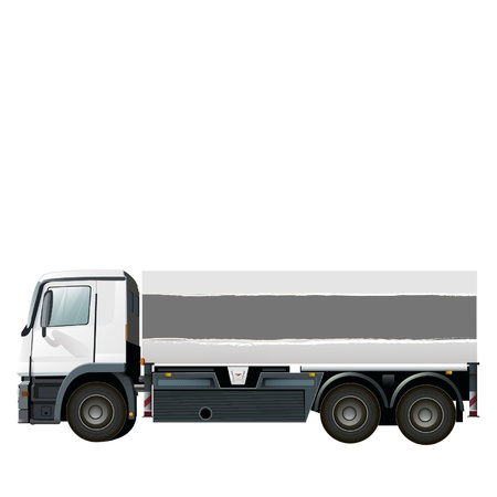 empty lorry to place your concept Stock Vector - 17722845