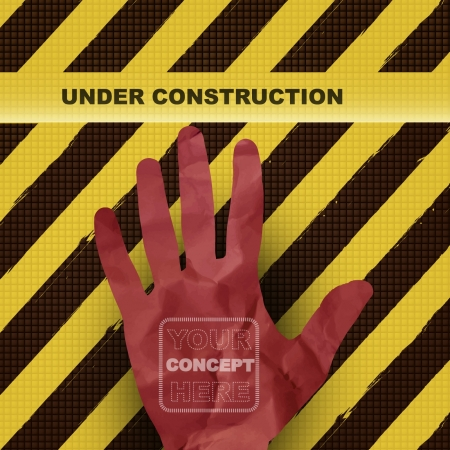 Under construction concept background Stock Vector - 17722975