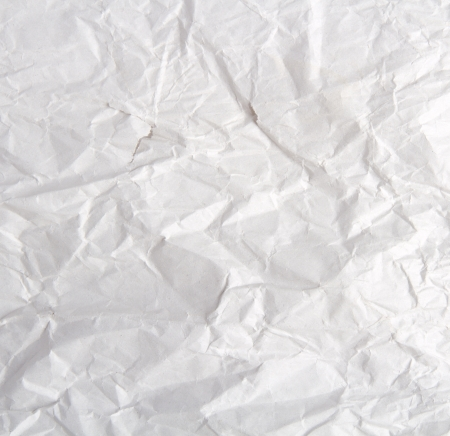 wrinkled paper texture Stock Photo - 21412184