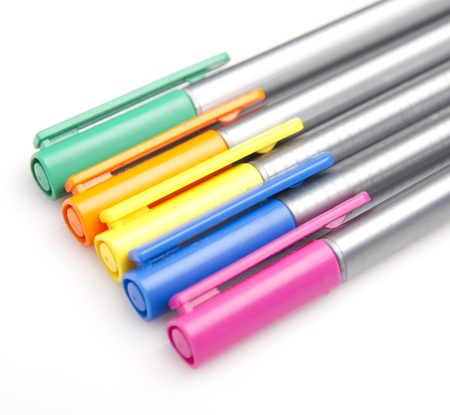 colorful pens Stock Photo - 21412224
