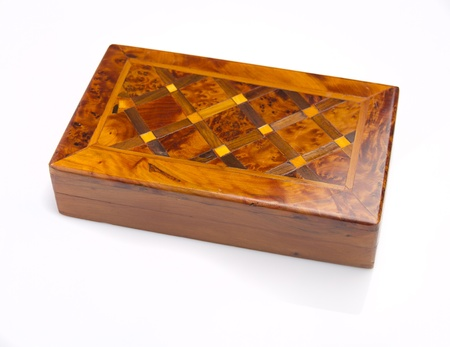 wooden box photo