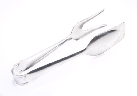 salad tweezers Stock Photo - 21412390