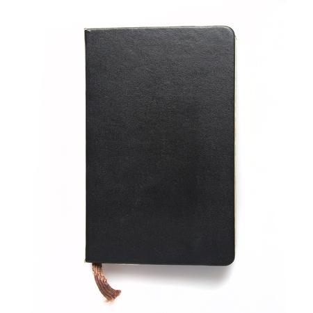 black notebook photo
