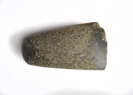 erectus: caveman hammer Stock Photo