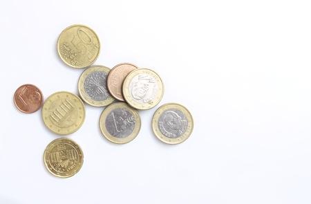 Monedas de euro Foto de archivo - 21412455