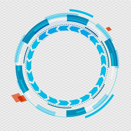 graphic circle design Vector