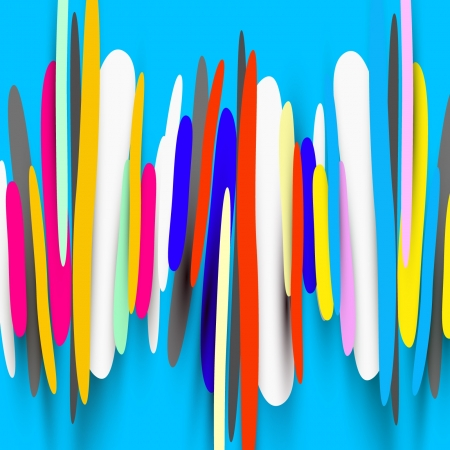 color abstract shapes background Vector