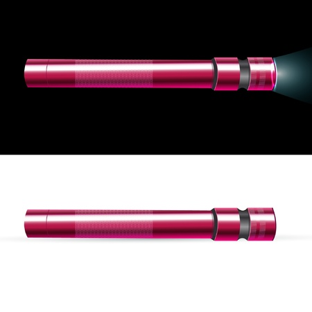 electric torch: flashlight Illustration