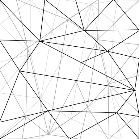 cobwebby: network and triangles asbtact background