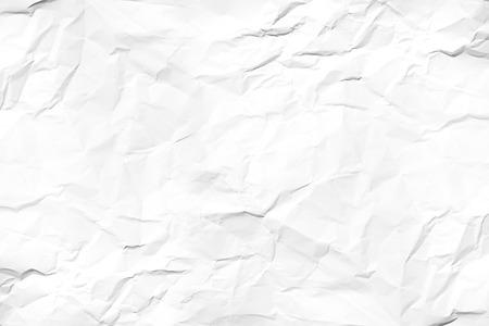 crinkled: white wrinkled paper texture
