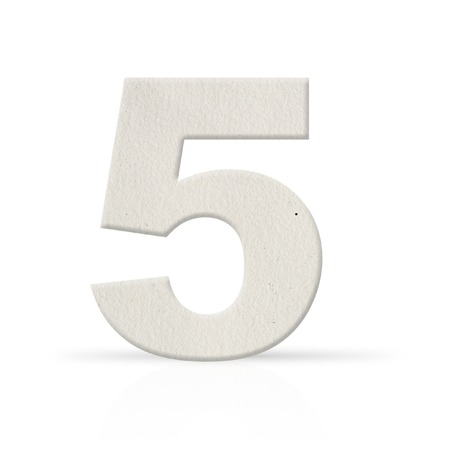 five number watercolor paper texture photo