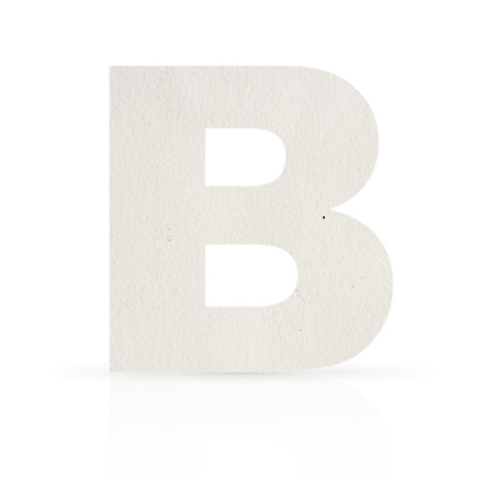 b letter watercolor paper texture photo