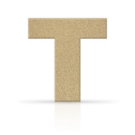 t sand letter texture