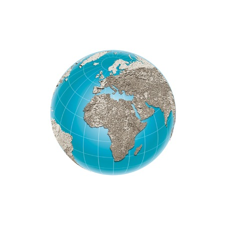 world illustration Vector