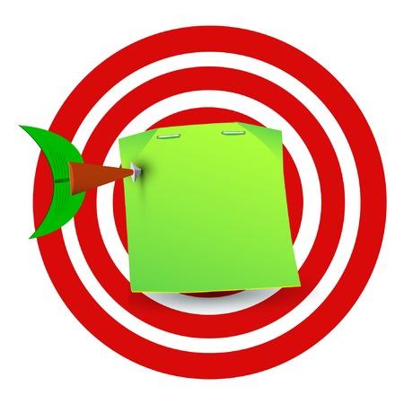illustraton: dartboard illustraton