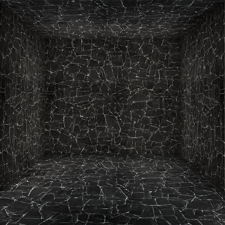 stone empty room photo