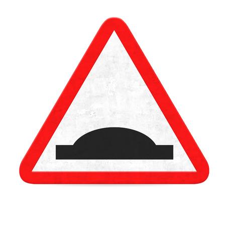 danger bump road sign photo