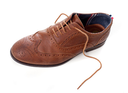 classic leather shoes photo