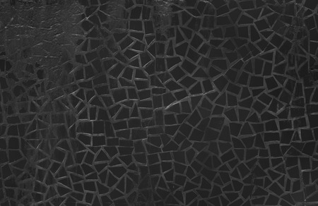 black porcelain wall photo