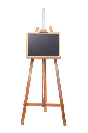 artboard: easel and blackboard