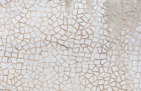 cracked glass: porcelain pieces texture