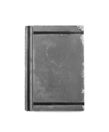 old folder  isolated in white  photo