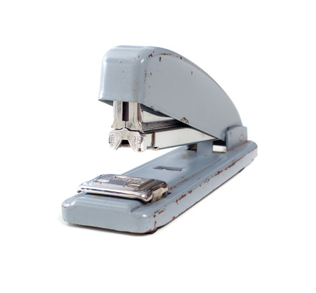 stapler  isolated in white  photo