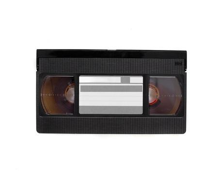videotape: videotape  isolated in white