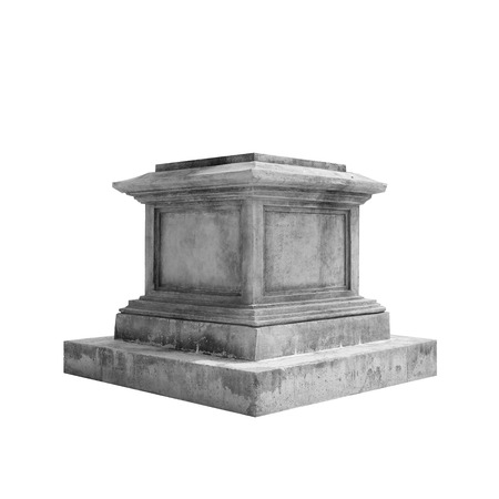 greek old pedestal photo